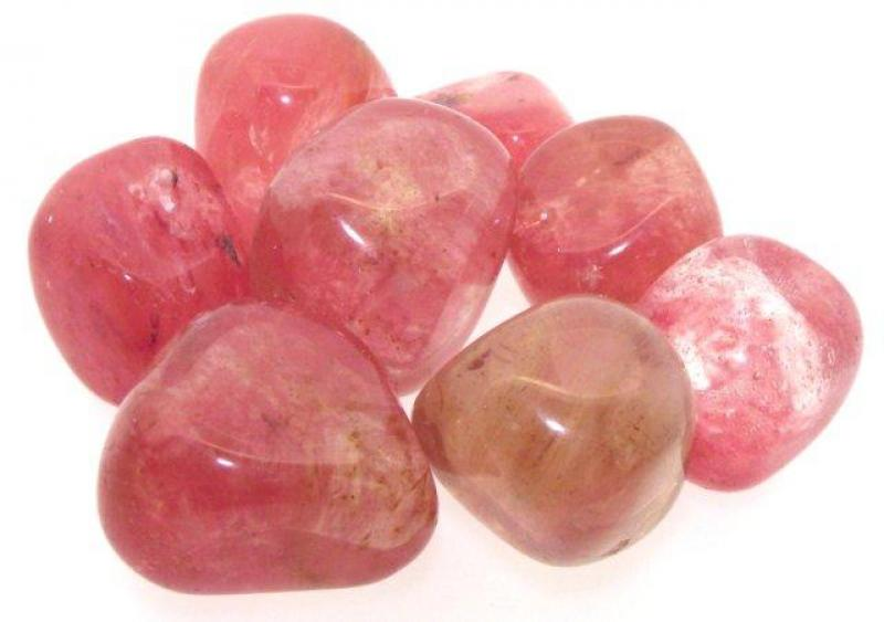 Cherry Quartz Tumbled Gemstone